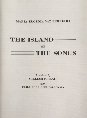 The Island of the Songs